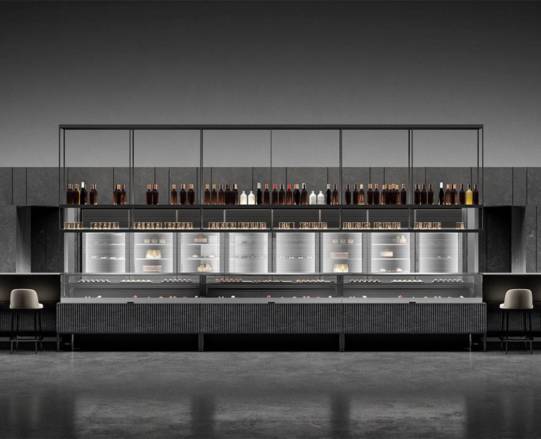 Vetrine refrigerate by Isa: design e prestazioni uniche con la collezione Pentagram