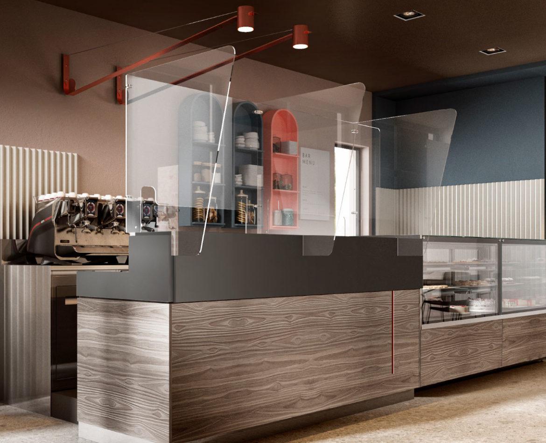 """""""Restart 2020"""": caffè in sicurezza con Isa Bar-Shield"""