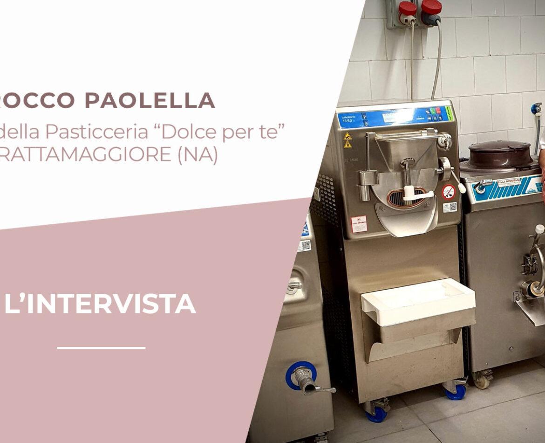 Rocco Paolella sceglie Carpigiani per la nuova gelateria: una garanzia per i nostri clienti